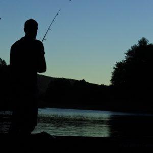 Fishing on the Pepacton Reservoir: Bob Moses
